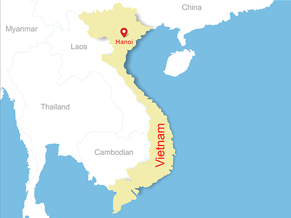 Where Is Vietnam Fast Facts Location Capital World Map Of Vietnam