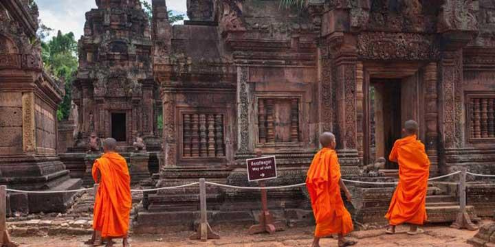 Banteay Kdei temples