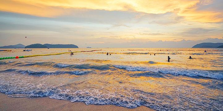 Strand von Langkawi