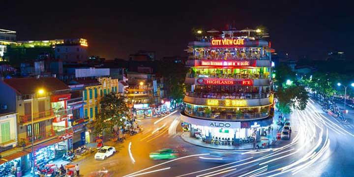 Vista de La Ciudad de Hanoi
