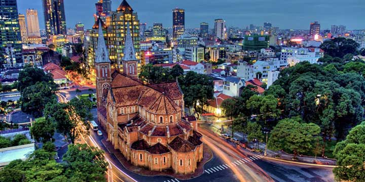 Ho Chi Minh City View
