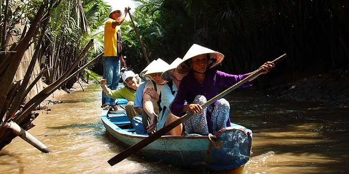 Boat Trip at Mekong River