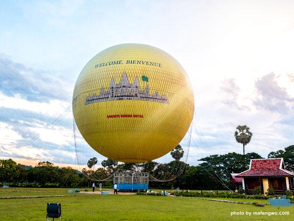 le ballon d'Angkor