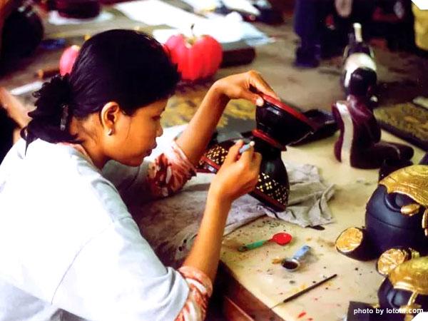 Céramique au Cambodge