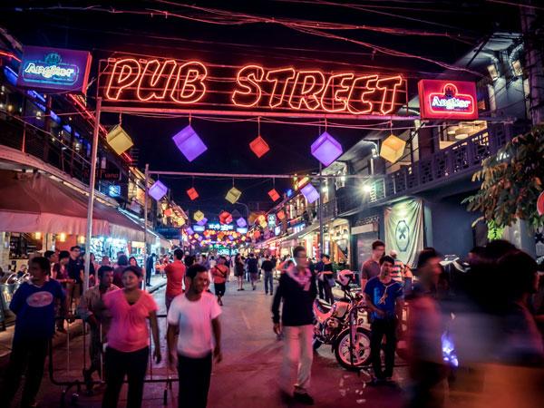 Pub Rue à Siem Reap