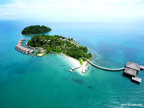 Île privée de Song Saa