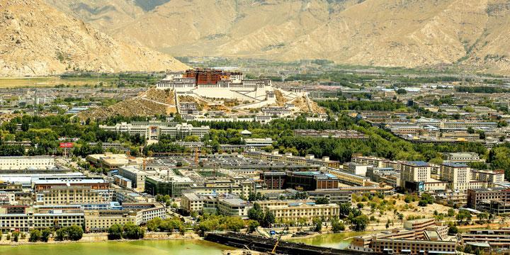Lhasa City View