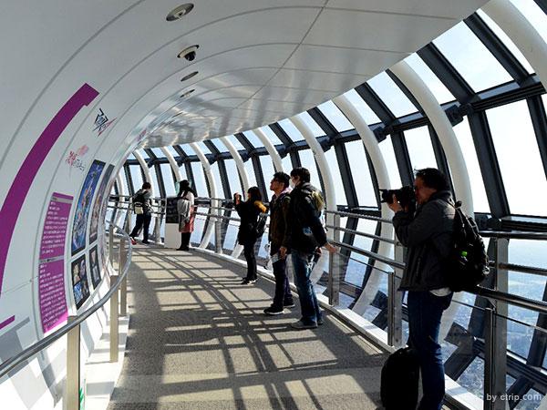 350m observatory of Tokyo Skytree