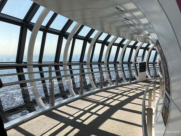 450m observatory of Tokyo Skytree