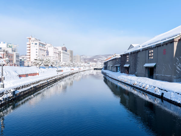 Otaru Canal in Japan