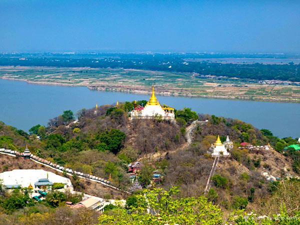Sagaing Hill in Mandalay
