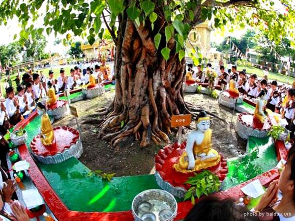 Kason Festival in Myanmar
