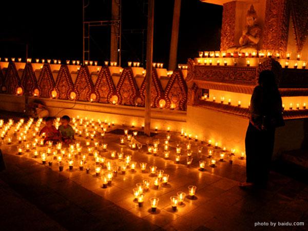 LightingFestival in Myanmar