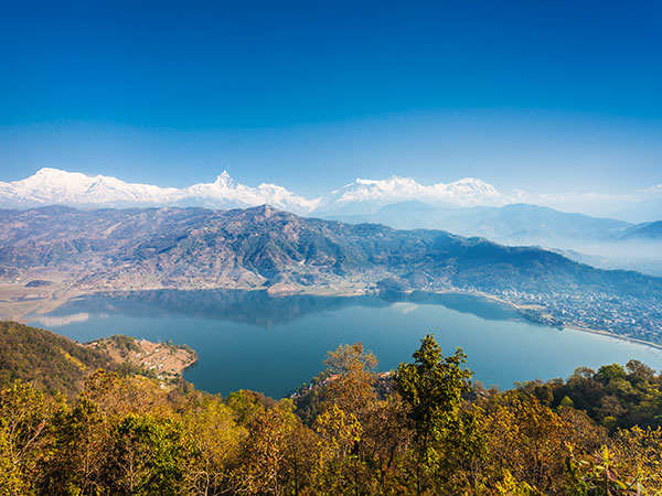 Phewa See in Pokhara