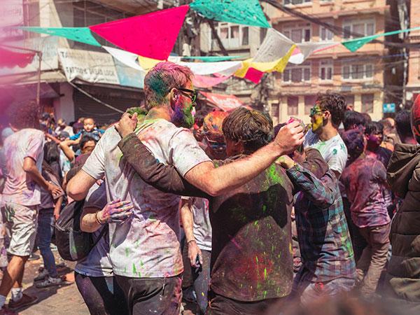 Das Holi-Fest