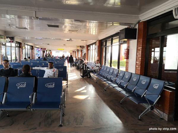 Der internationale Flughafen Kathmandu Tribhuvan