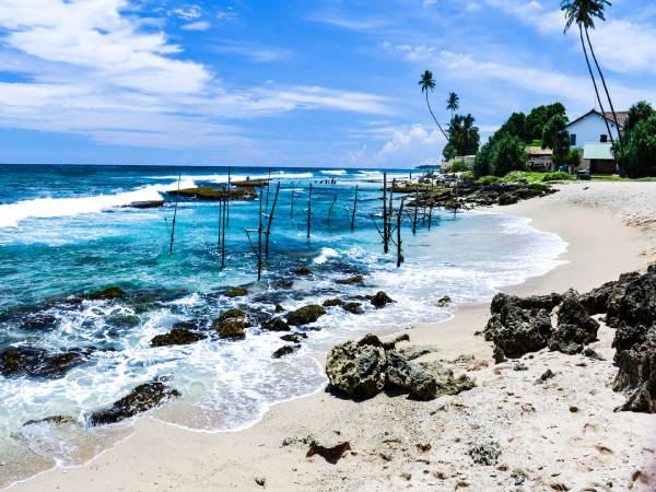 Sri Lanka coastal landscape