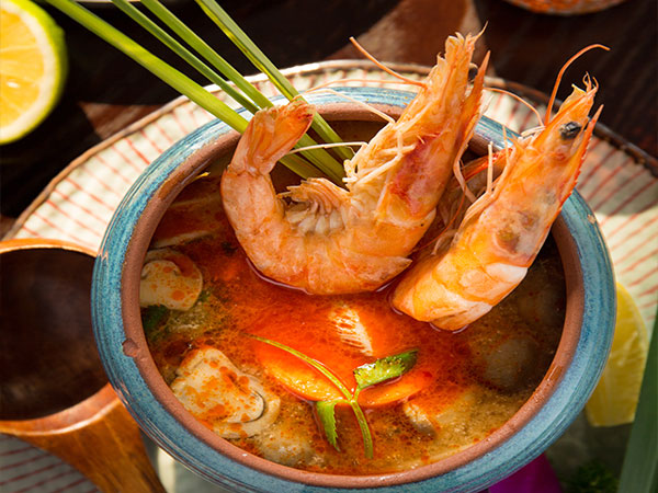 Tom Yum Kung Suppe